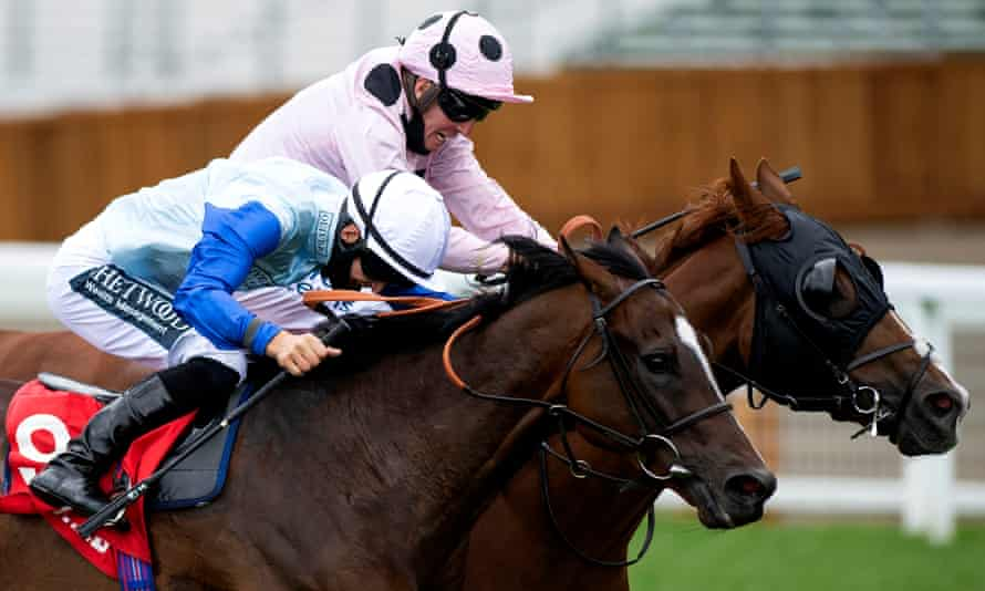 Jeremiah, far side, prevailed in a close battle with Sam Cooke at Ascot last month and can score there again on Saturday.