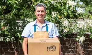 Fresh Range founder Rich Osborn