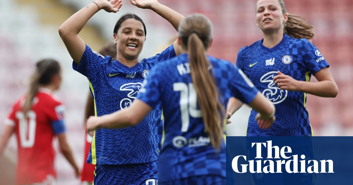 WSL roundup: Chelsea end Manchester United's 100% record with 6-1 thrashing