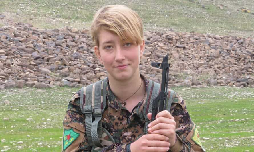 Anna Campbell was killed by a Turkish missile in Afrin