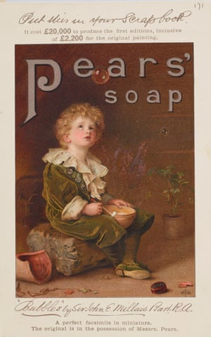 An 1890 advert for Pears soap reveals the huge amount of money – £20,000 – the company had deemed it worthy of investing in an ad campaign.