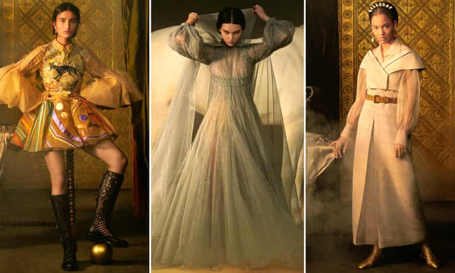Dior designer Maria Grazia Chiuri's latest creations are based on tarot card characters.