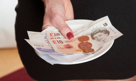 Keep the change? New app re helping waiting staff keep a watchful eye on gratuities.