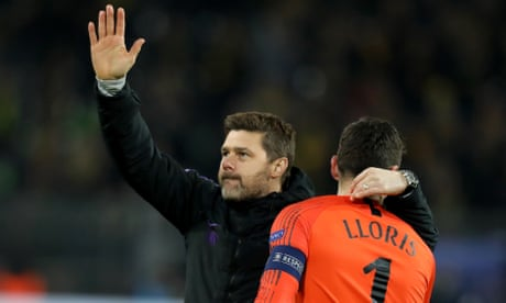 Spurs hope to play Champions League quarter-final at new ground