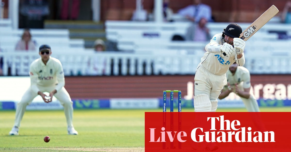 England v New Zealand: first Test, day five – live!