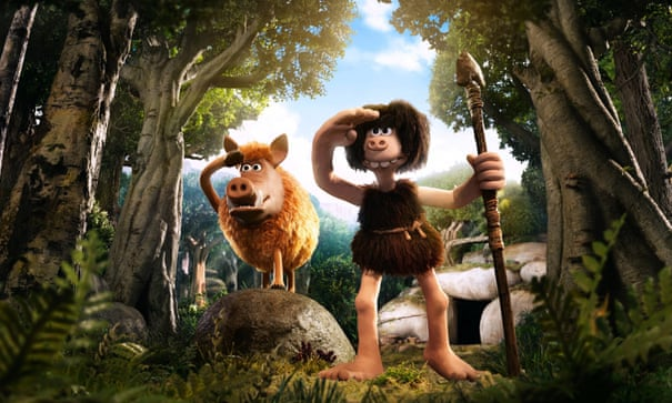 Early Man review – Aardman claymation comedy brings Brexit to the