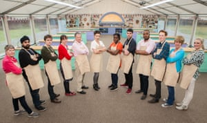 WARNING: Embargoed for publication until 00:00:01 on 16/08/2016 - Programme Name: The Great British Bake Off 2016 - TX: n/a - Episode: n/a (No. n/a) - Picture Shows: **NOT FOR PUBLICATION BEFORE 00:01 HOURS TUESDAY 16TH AUGUST 2016** Bakers left to right: Val, Rav, Tom, Kate, Lee, Candice, Benjamina, Michael, Selasi, Andrew, Jane & Louise - (C) Love Productions - Photographer: Mark Bourdillon