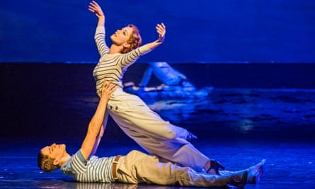 Ashley Shaw and Dominic North in The Red Shoes.