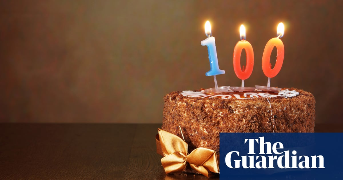 Tim Dowling: my dad is 100 and there's something in my eye