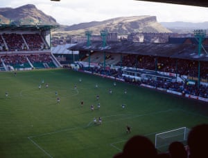 #33Against The Backdrop Of The Big TwoHibernian v HeartsEaster RoadEdinburgh1995