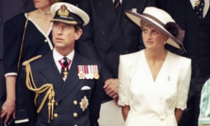 Prince Charles and Princess Diana in 1991.