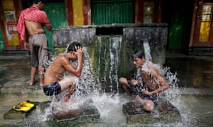 Heatwave in Kolkata