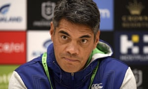 Stephen Kearney speaks after the match between the Rabbitohs and Warriors on Friday