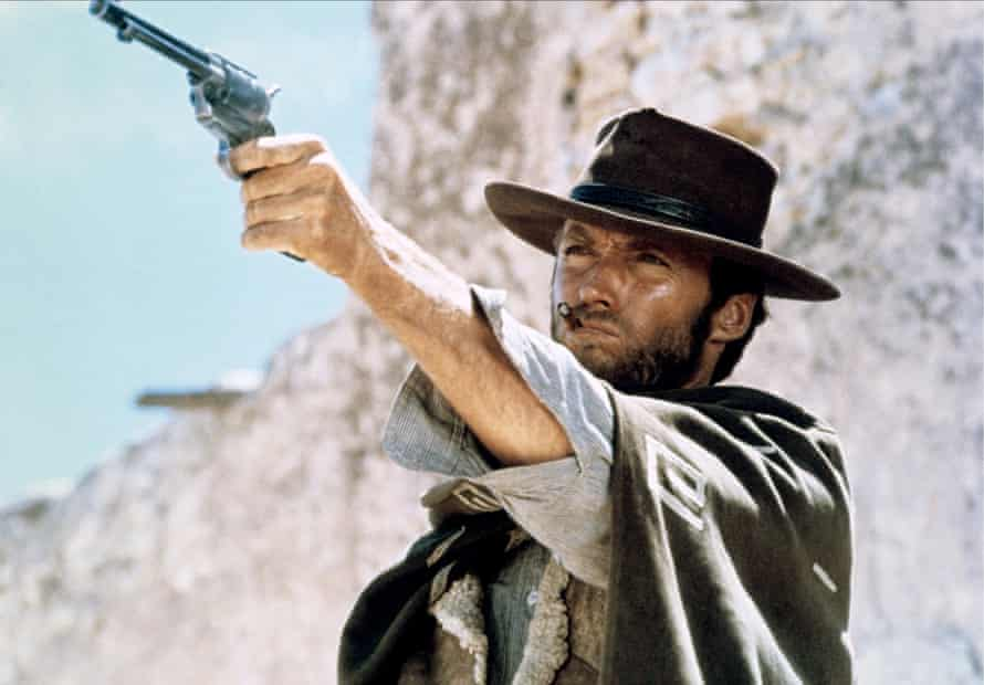 Clint Eastwood in The Good, the Bad and the Ugly.