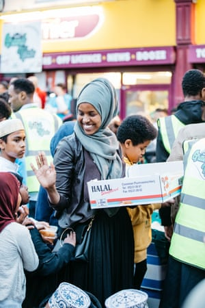 Local Muslim groups are the driving force behind the event.