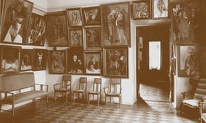 Sergei Shchukin's study, known as the Picasso Room