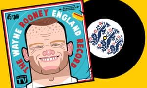 Wayne Rooney illustration