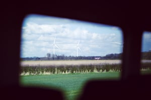 'You're in the clear, purged of everything' … the view on the way from Goole to Hull.