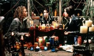Rachel True, Fairuza Balk and Neve Campbell in The Craft, 1996.