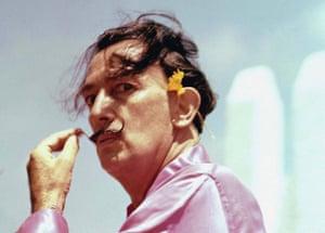 Dalí in Cadaqués, Spain, in the 1950s.