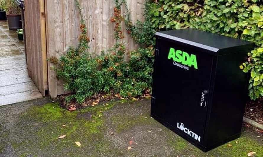 ASDA secure delivery box