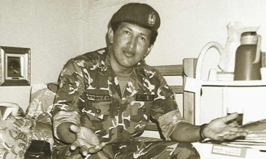 Hugo Chavez was held at Yare prison, Venezuela, following the failed coup.