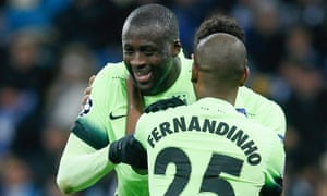 Manchester City's Yaya Touré capped an outstanding performance with a last-minute goal