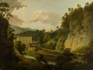 Arkwright's Mills, Joseph Wright of Derby (c1795-6).