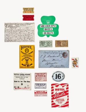 Printed ephemera, references for vintage lettering design