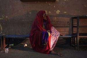 Homeless Somalian refugee Igra