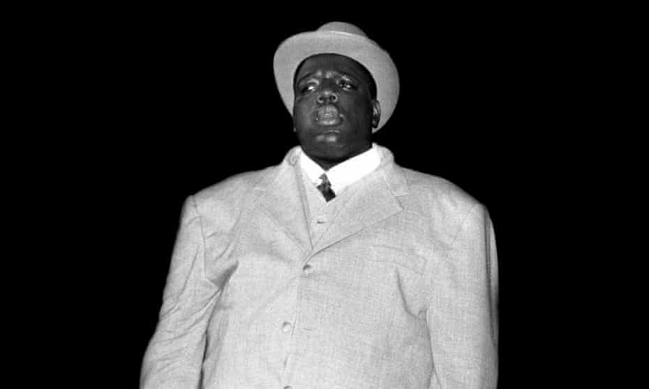 Notorious BIG performing in New Jersey in 1995.