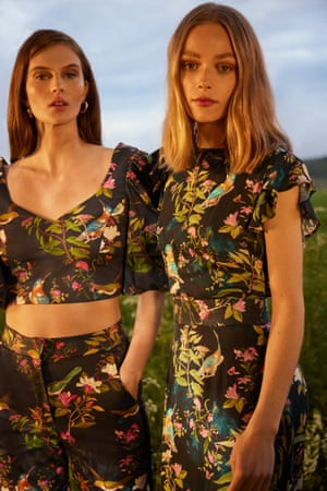 In bloomOasis has teamed with the Royal Horticultural Society, delving into the RHS archives, where a vast library of historical prints depicting botanicals and plant life inspired the 27-piece collection. Included are prints featuring classic magnolias, bold blooms and unique bird prints on tailored separates and corseted midi dresses with lace yoke inserts and dramatic tie-up sleeves. From £23.20, oasisfashion.com