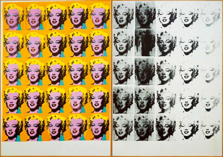 Andy Warhol's Marilyn Diptych, 1962