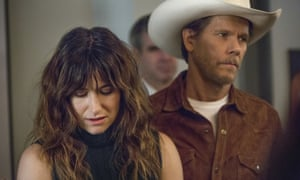 Kathryn Hahn and Kevin Bacon in the TV adaptation of I Love Dick.