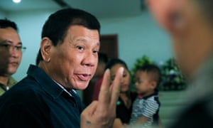 Philippine President Rodrigo Duterte is known for making offensive comments