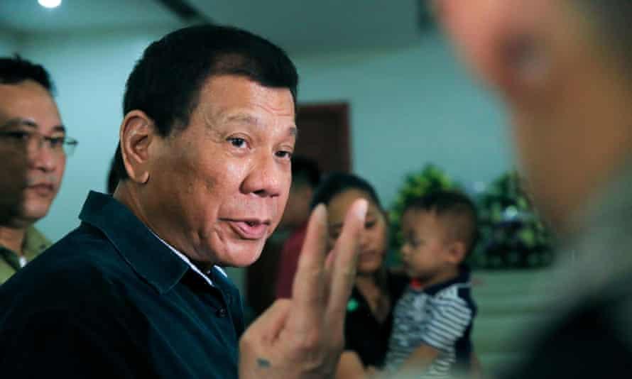 Philippine President Rodrigo Duterte is known for making offensive comments