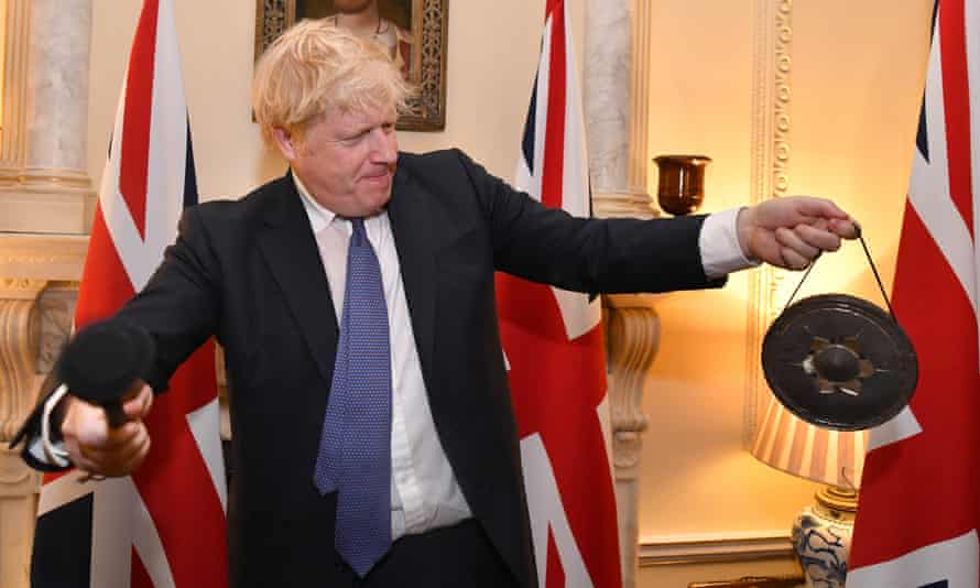 Boris Johnson marks the UK's departure from the EU at 11pm on Friday.