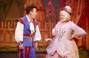 Johnny Mac and Elaine C Smith in Sleeping Beauty pantomime at the King's theatre, Glasgow