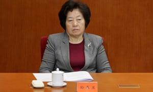 Vice-premier Sun Chunlan in 2016.