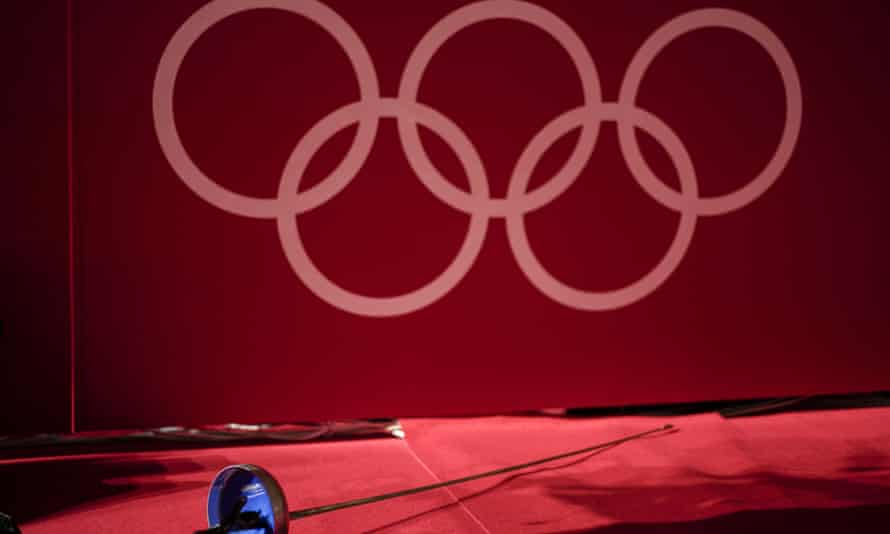 The Olympic fencing contest starts this weekend