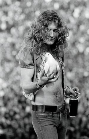 Neal Preston's best photograph: Robert Plant catches a dove | Art