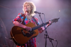 Martha Wainwright performs at Union Chapel in London, England