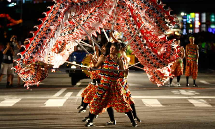 The Hungry Ghost Festival runs from 10 August 10 to 7 September with traditional operas, puppet shows and concerts organised by believers to appease the roaming spirits.