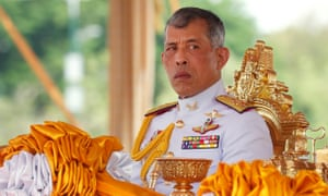 Thai King Maha Vajiralongkorn has sacked four royal guards