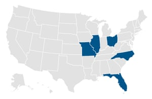 On 15 March, five states will hold presidential primaries.
