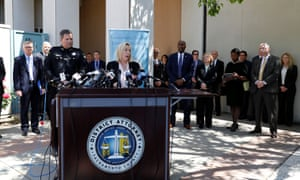 Authorities announce the arrest in Sacramento.