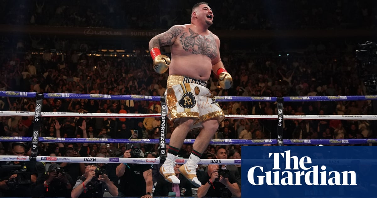 Boxing between countries: Andy Ruiz Jr rises above US-Mexico