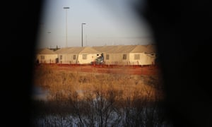 A detention camp for migrant teens in Tornillo, Texas.