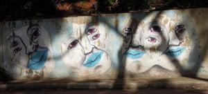 A graffiti mural in São Paulo