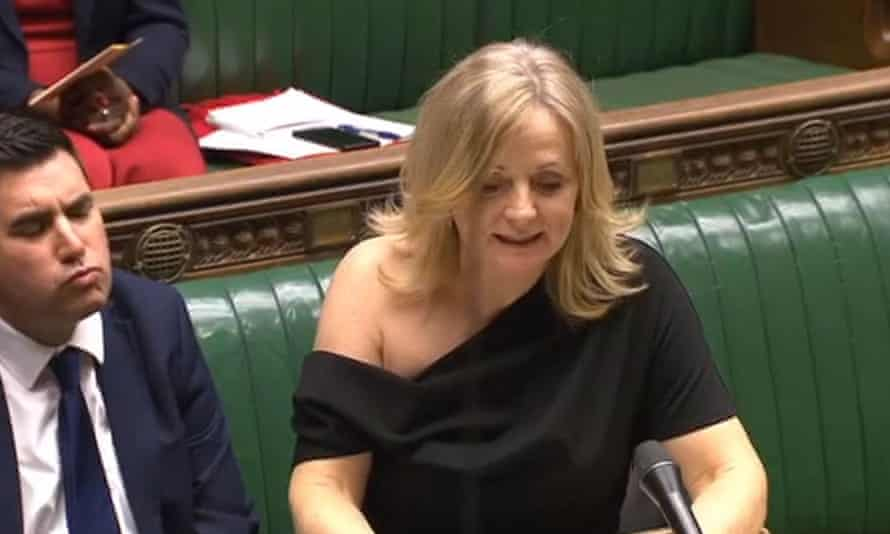 Tracy Brabin at the despatch box